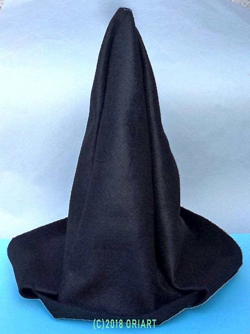 おりがみ立体作品「ハロウィン帽子」
