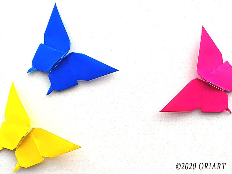 鬼滅の刃「胡蝶しのぶ」折り紙