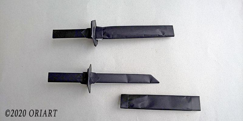日輪刀の折り方