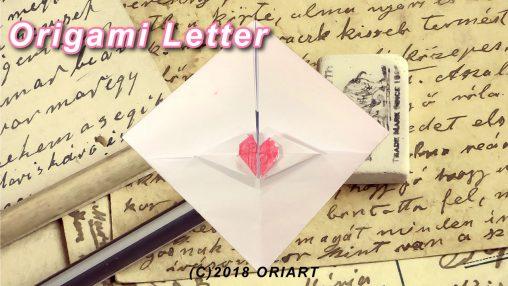 おりがみ作品「折り手紙」