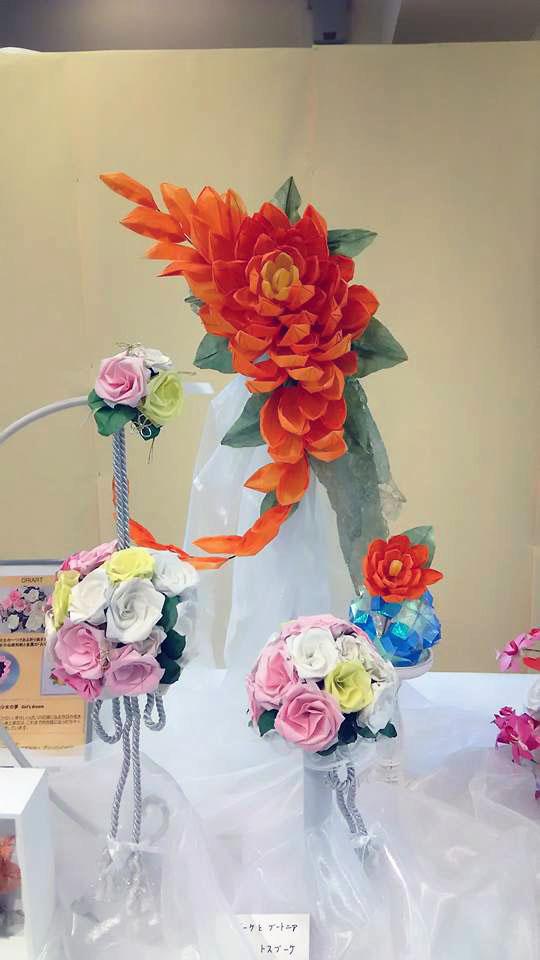結婚式 ウェディング おりがみ装飾